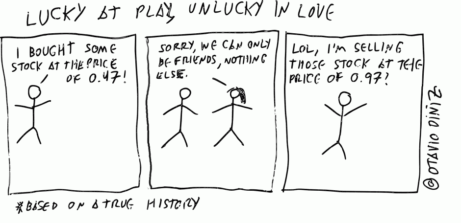 Lucky at Play, Unlucky in Love