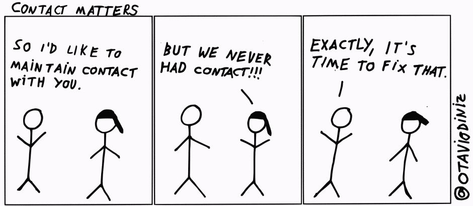 Contact Matters