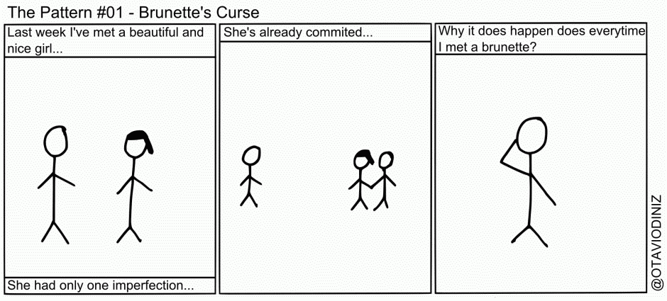 The Pattern: #01 – Brunette's Curse